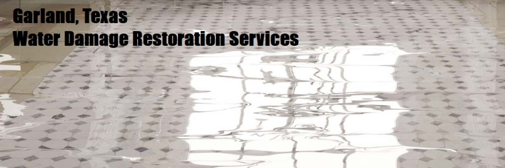 water damage restoration garland