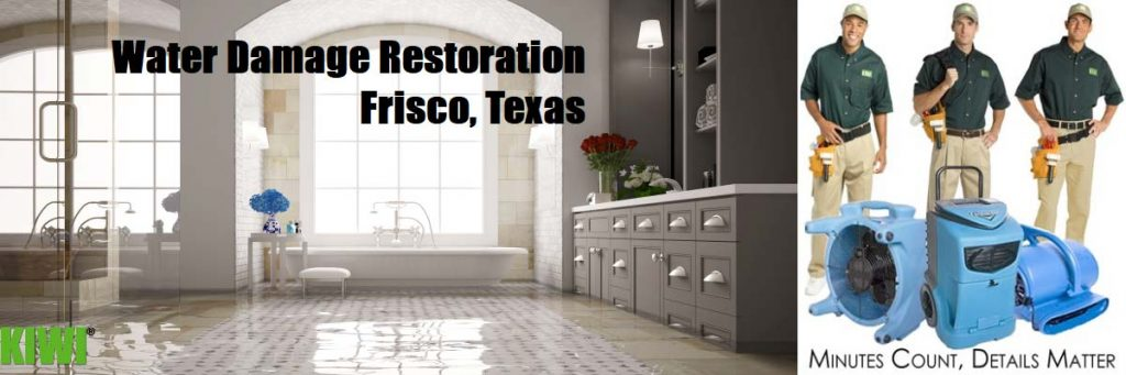 water damage restoration frisco