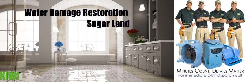 water damage restoration sugar land