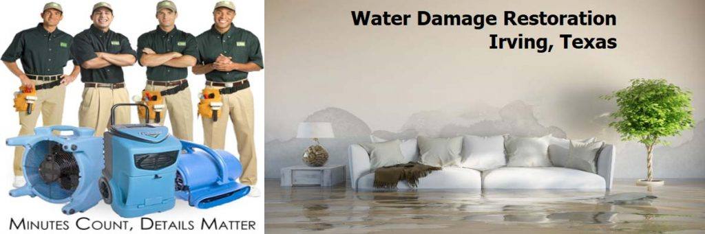 water damage restoration irving