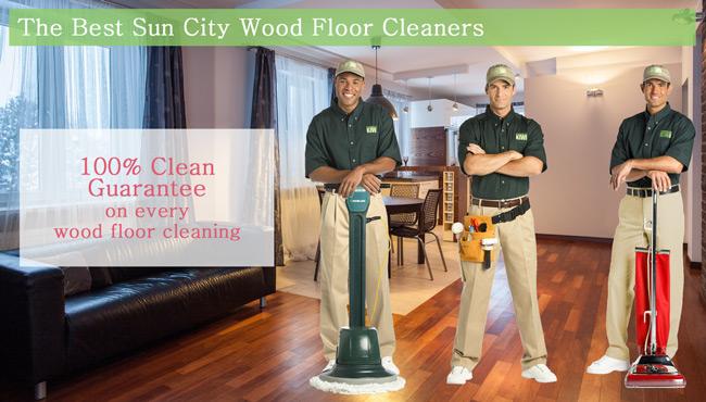 wood floor cleaning